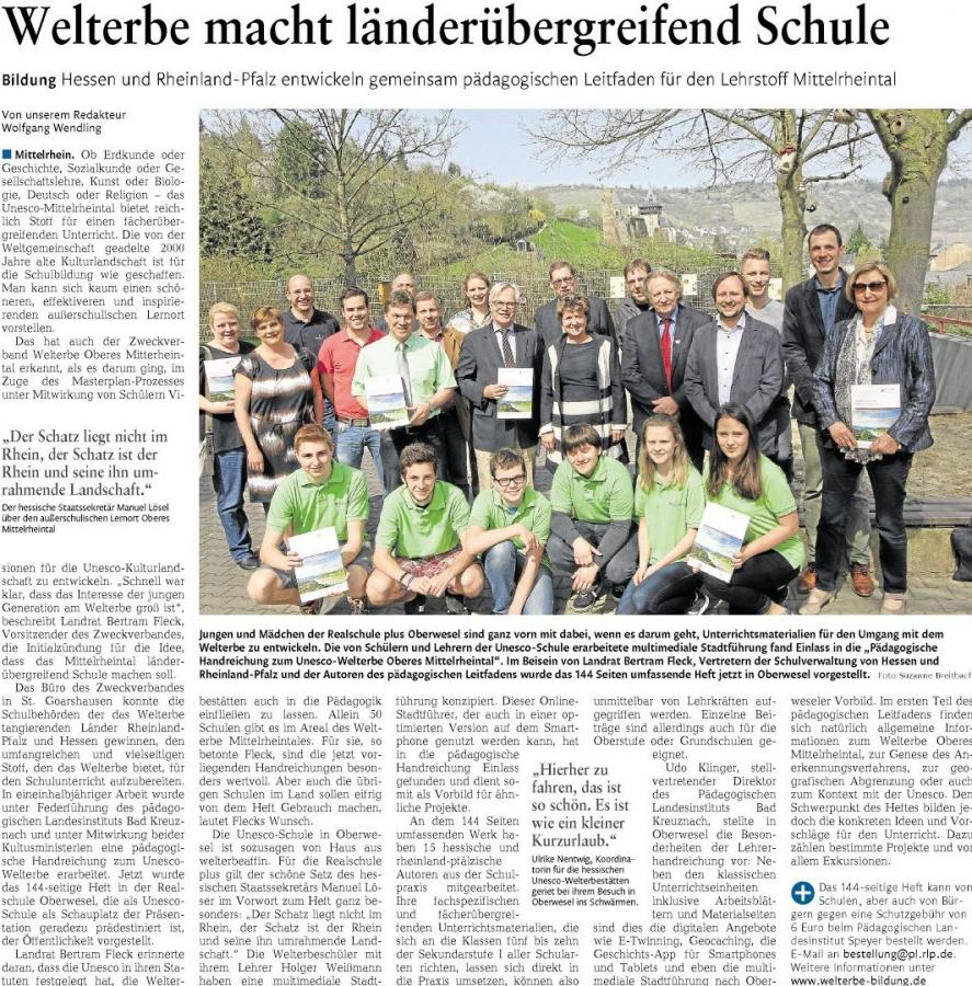 UNESCO-Welterbe Oberes Mittelrheintal