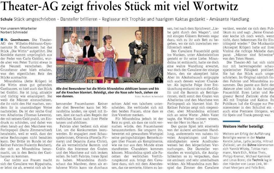 Tehater-AG - De Wirtin