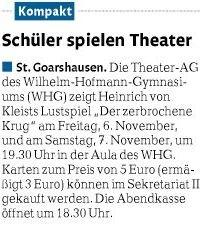 Theater am WHG 1
