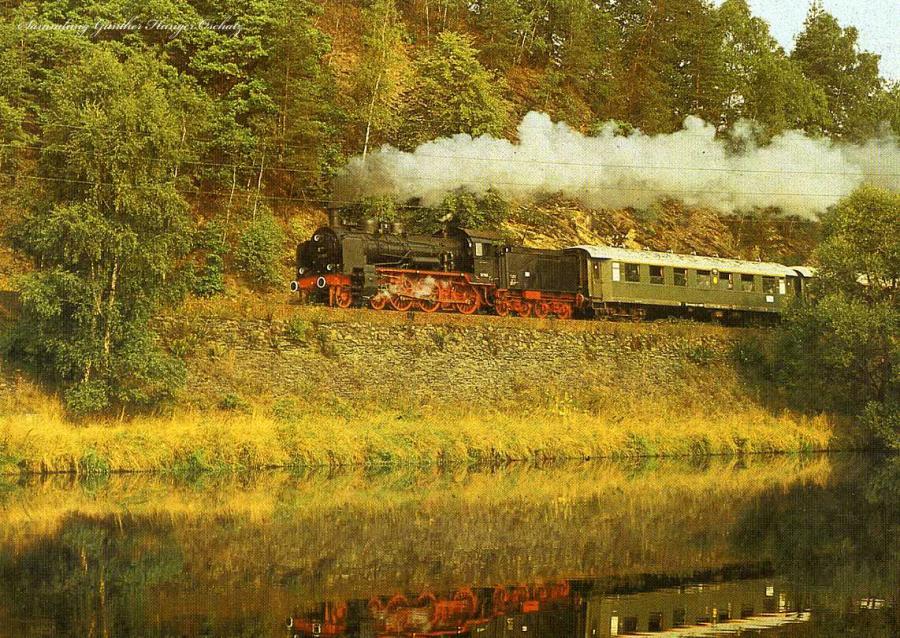 Dampflokomotiven im Einsatz 38 1182