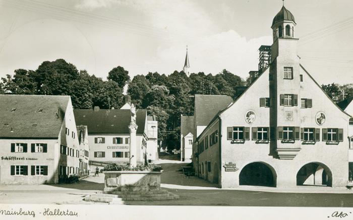 Altes Mädchenschulhaus 1956