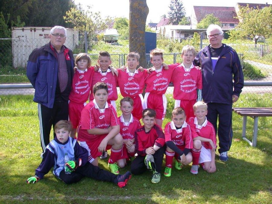 Unsere Fußballmannschaft