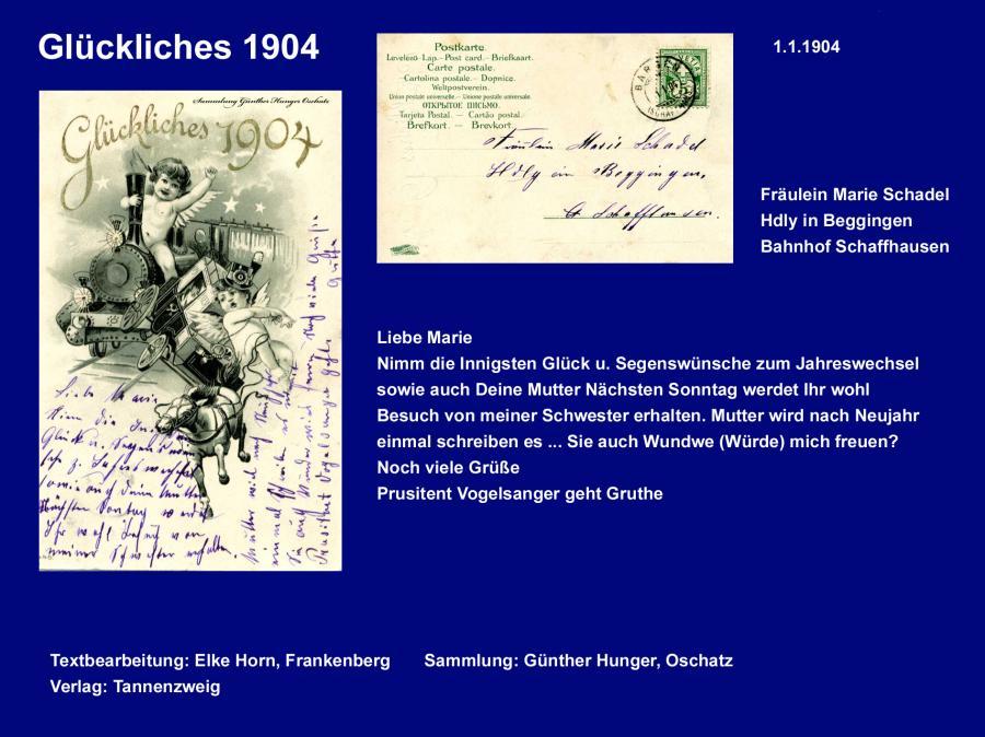 Glückliches 1904