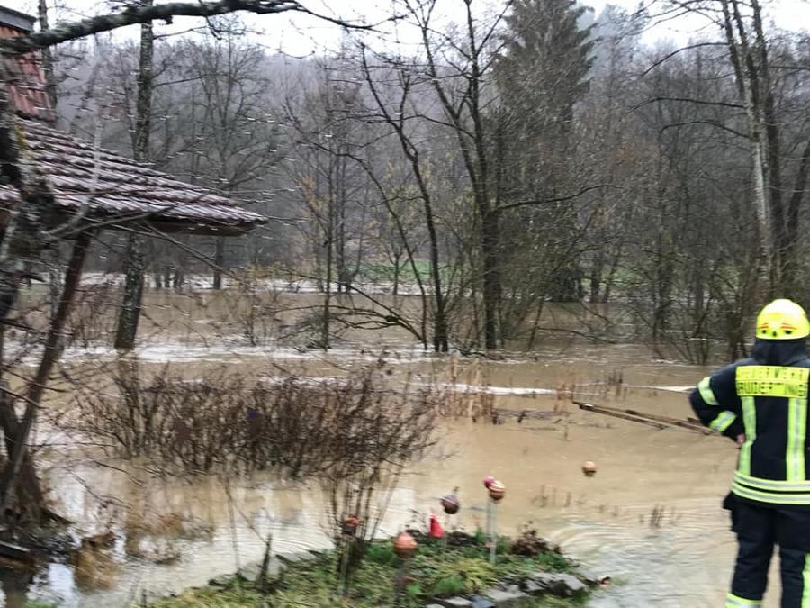 16.03.2019 Hochwasser Fischhaus