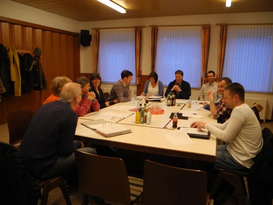 Teilnehmer der Gründungsversammlung Energiegenossenschaft Oberes Mühlbachtal