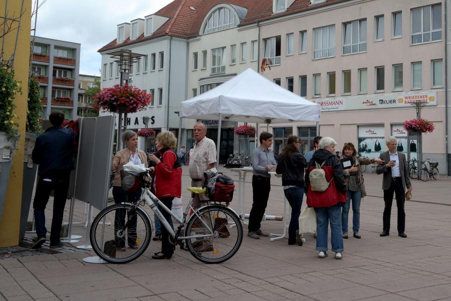 Beteiligung zur Marktplatzumgestaltung