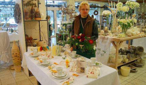 Festliche Tischgestaltung ist Thema einer Ausstellung in Gulben. Foto: Marion Hirche