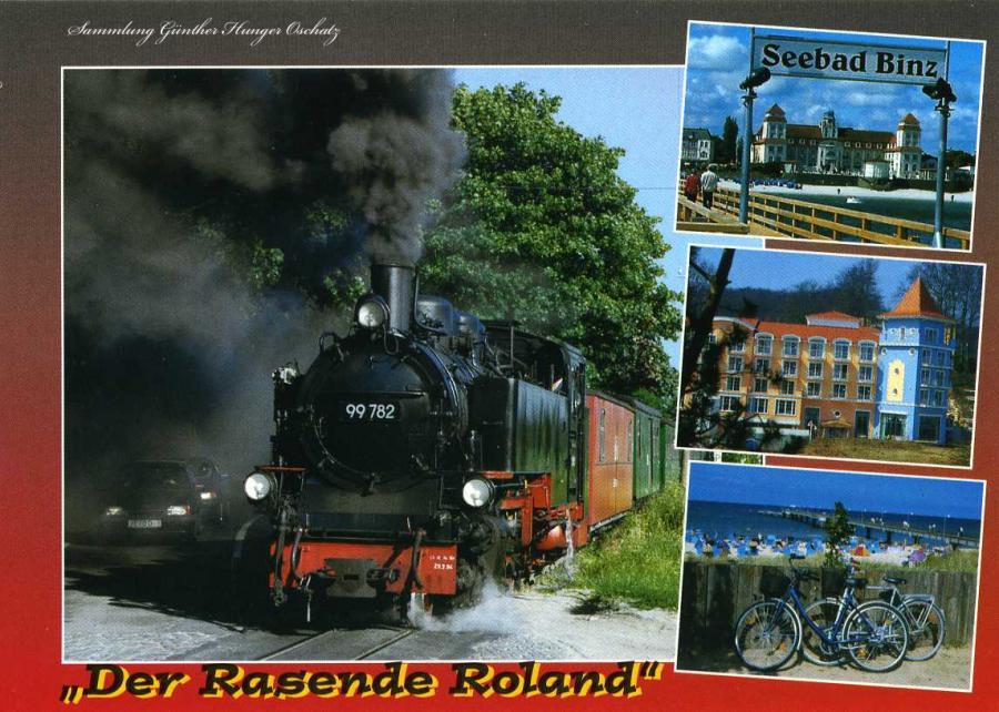 """""""Rasende Roland"""" auf der Insel Rügen"""