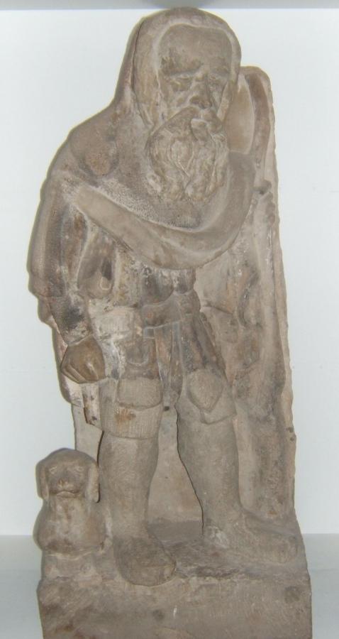 Eisfelder Schulmännle. Sandstein.1575
