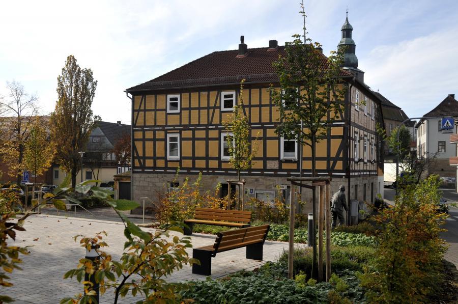 Rathaus und Hydepark (c) Monika Greb