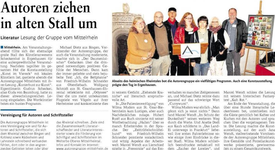 Autorengruppe Mittelrhein Marcel Wendt