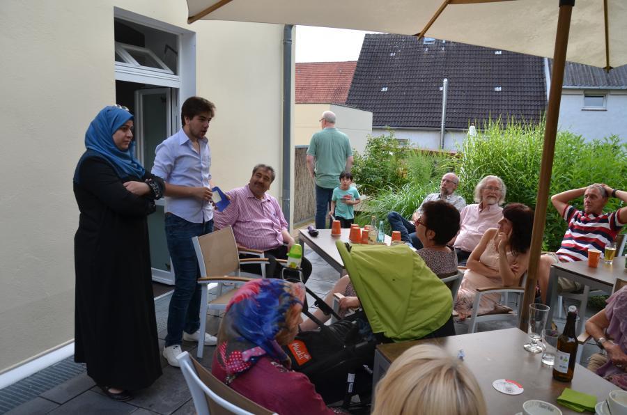 Syrisch-deutsches Freundschaftstreffen  Montag, 25. Juli