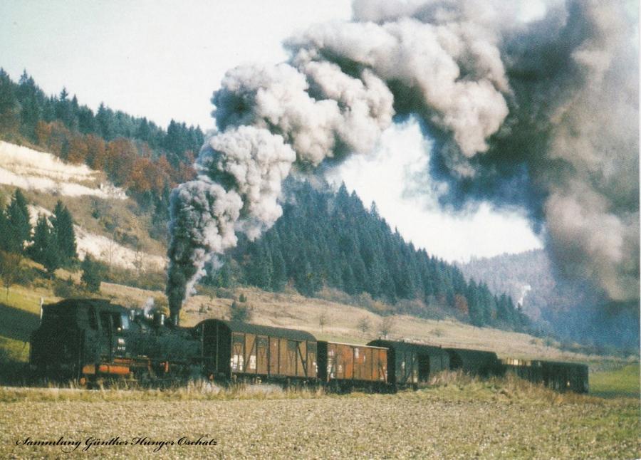 Dampf-Lokomotive der Baureihe 64