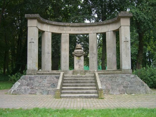 Denkmal Opfer I. WK Friedland Hans Dammann 2007