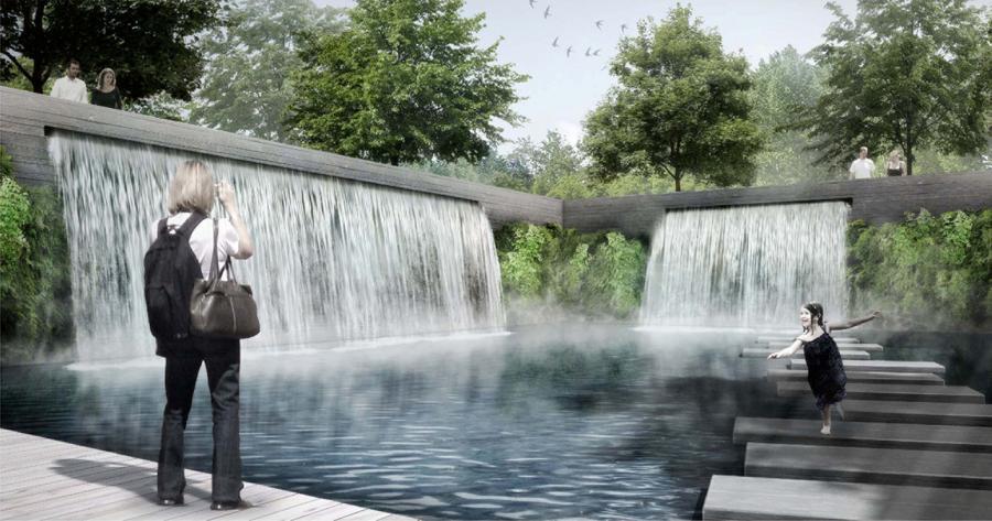 Wassergärten, Foto: Grün Berlin