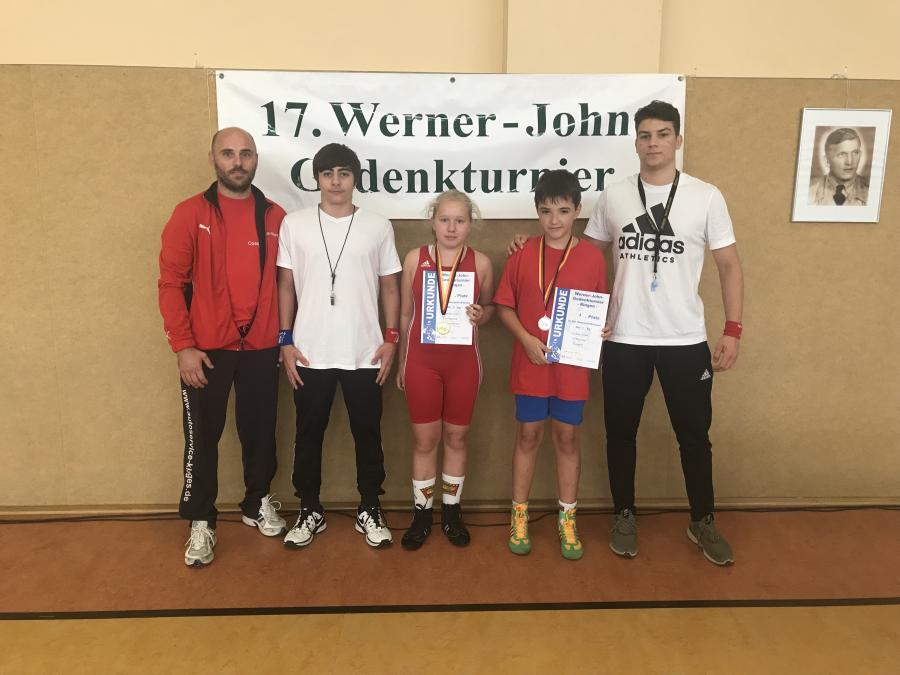 17.Werner-John-Gedenkturnier Ringen