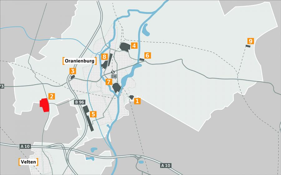 Gewerbegebiet Germendorf