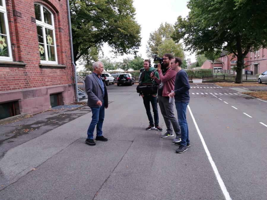 Bürgermeister Weiner im Gespräch mit focus.tv