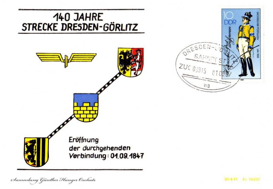 140 Jahre  Strecke Dresden-Görlitz
