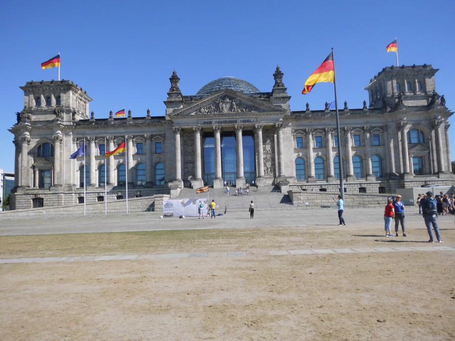 Besuch der Lehrer im Bundestag