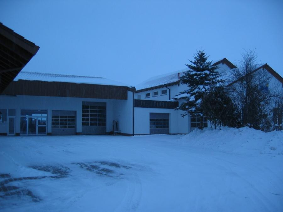 Innenhof Winter