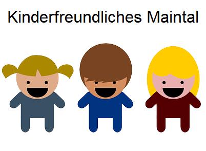 Link zu Kinderfreundliches Maintal; Bild zeigt drei Kinderfiguren; Quelle: Pixabay.com