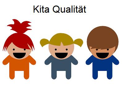 Link zu Kita Qualität; Bild zeigt drei Kinderfiguren; Quelle: Pixabay.com