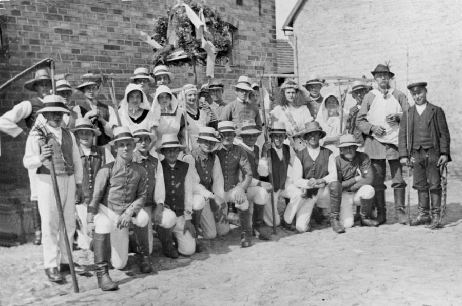 Erntefest in Neukalen 1937 (2)