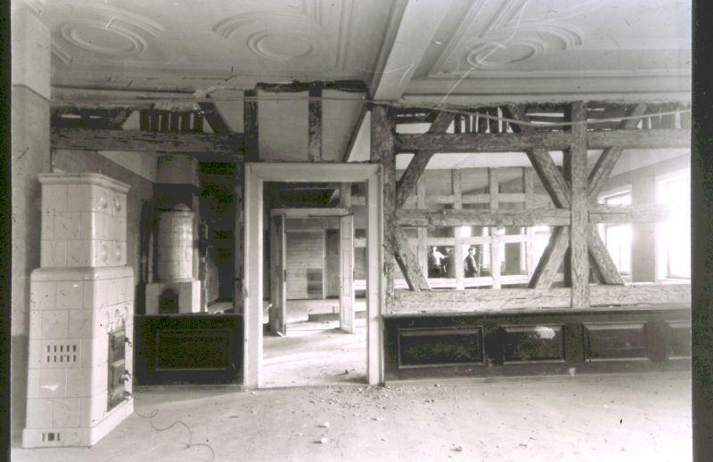 Saaleinbau Schloss 1952-1953