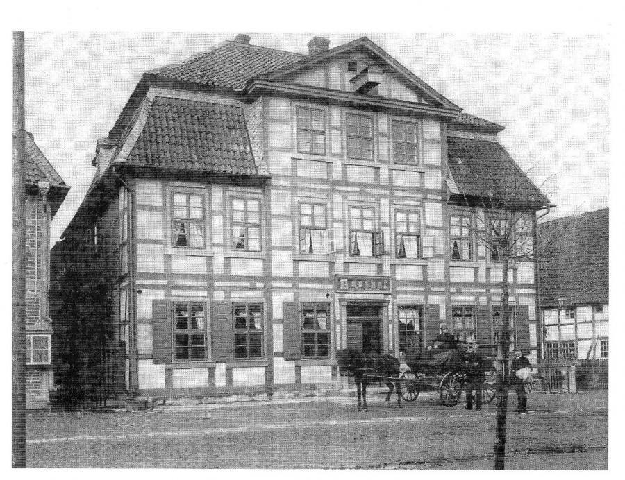 Gründungsort: Gasthaus Wilhelm Burgdorff 81 (1892)