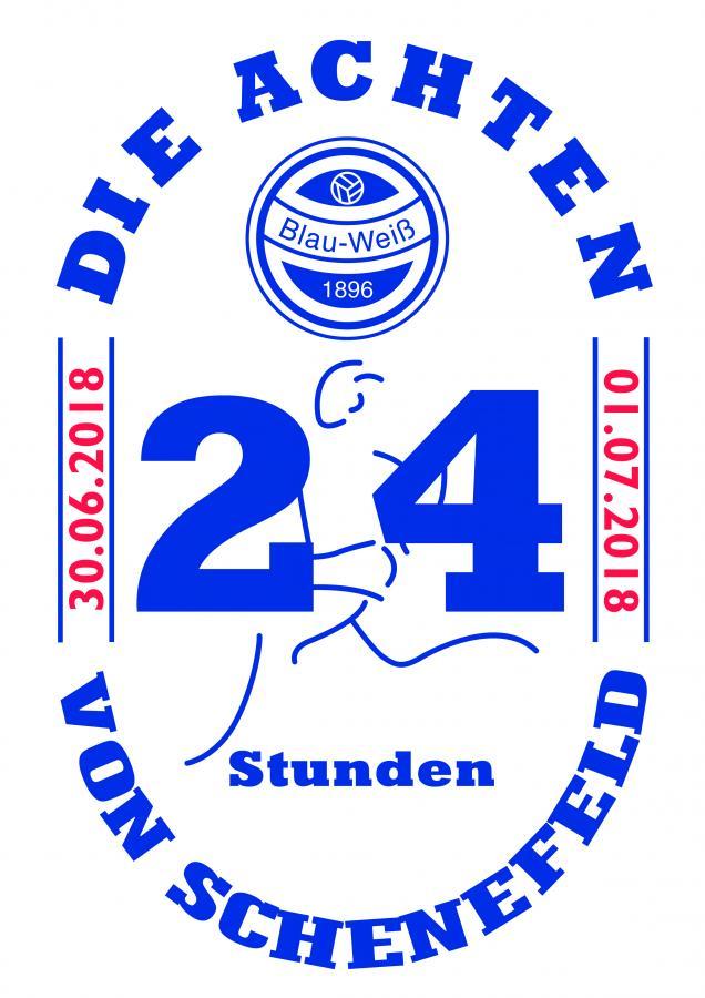 24 Stunden Logo