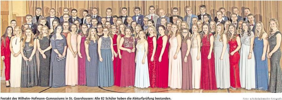 Gruppenfoto Abiturientia 2018