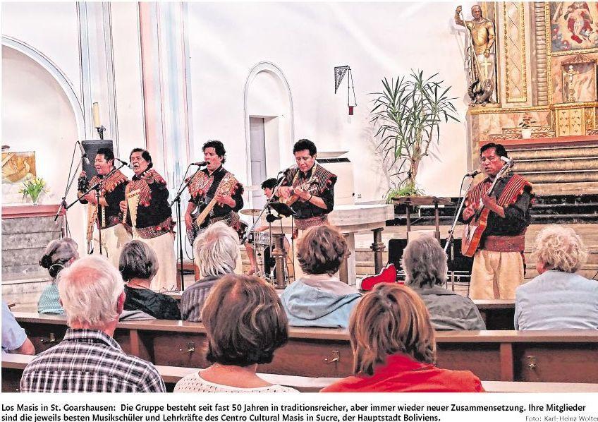 Los Masis Konzert 2018-Bild
