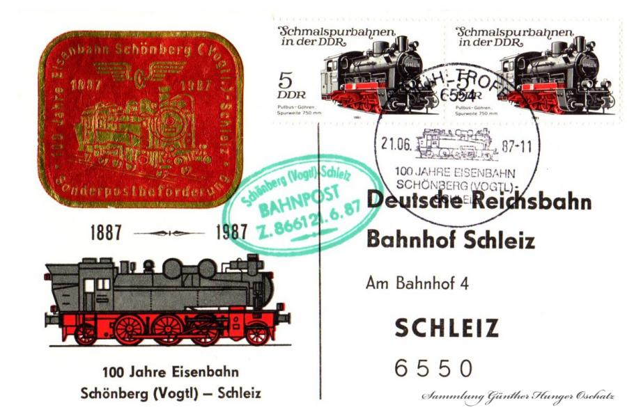 Deutsche Reichsbahn Bahnhof Schleiz