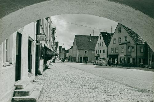Rathausbogen vor 1965