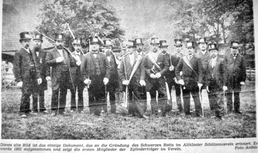 1901-Gründung des Schwarzen Rotts