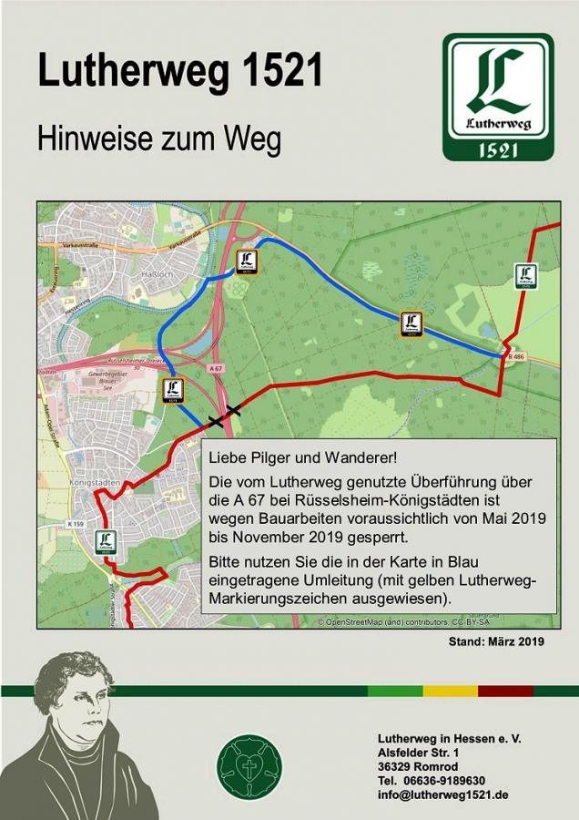 Lutherweg_Umleitung
