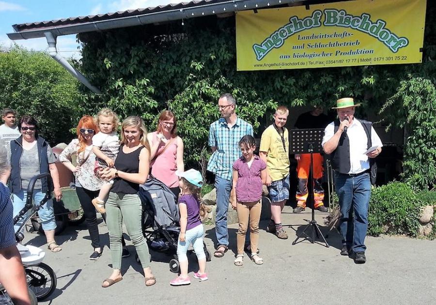 Eröffnungsveranstaltung Brandenburger Landpartie im Landkreis OSL auf dem Angerhof Bischdorf