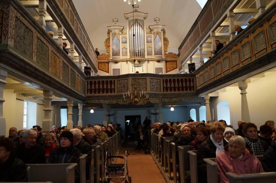 Wiederindienstnahme unserer Kirche St. Marien am 07.12.14