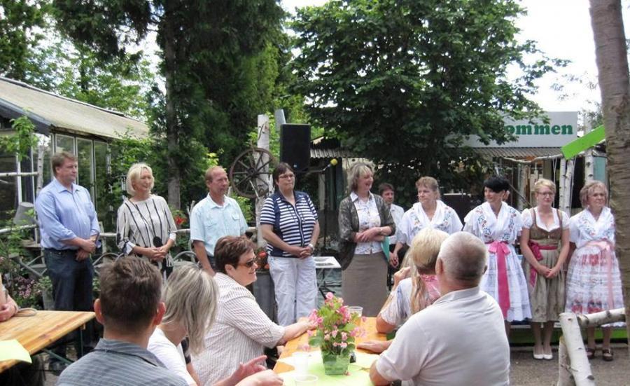 Eröffnungsveranstaltung Brandenburger Landpartie im Landkreis Dahme-Spreewald in der Gärtnerei Staritz