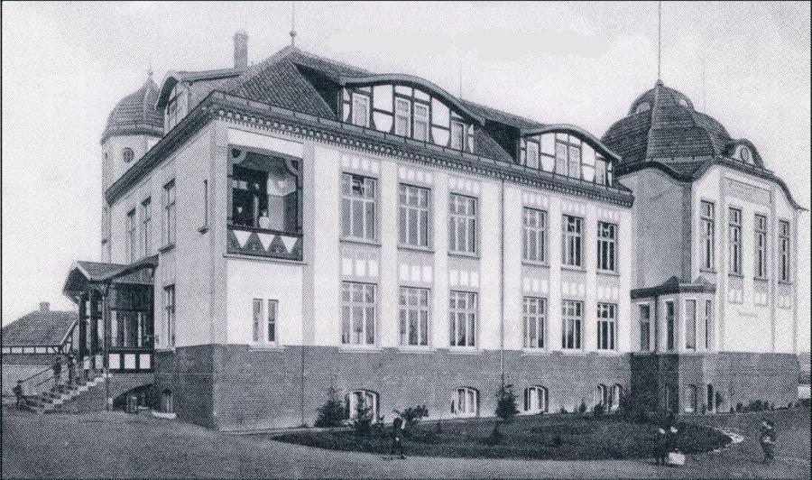 Schulgebäude 1915