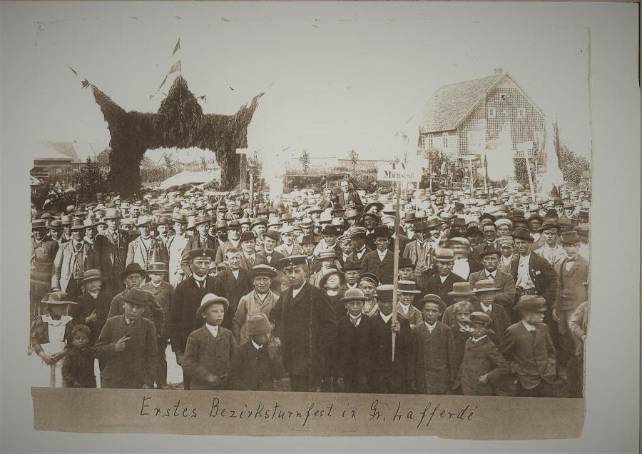 1. Bezirksturnfest in Groß Lafferde (1920)