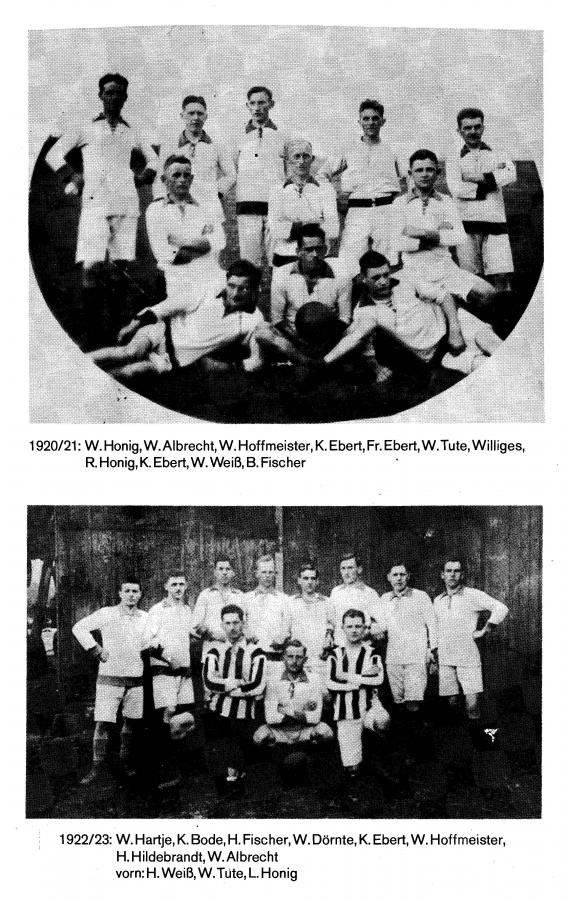 1. Herren 1921 - 1923
