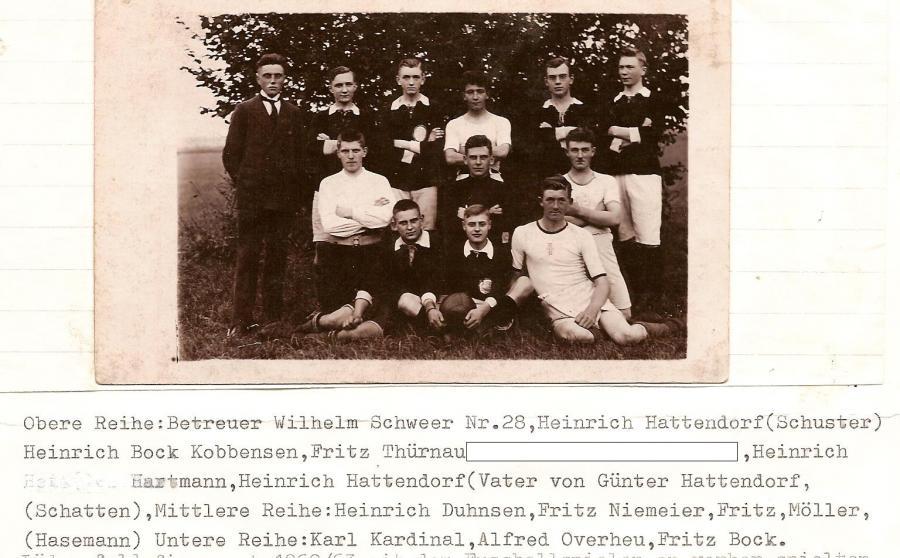 1925 1. Mannschaft