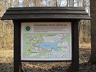 Infoschild Rundwanderweg