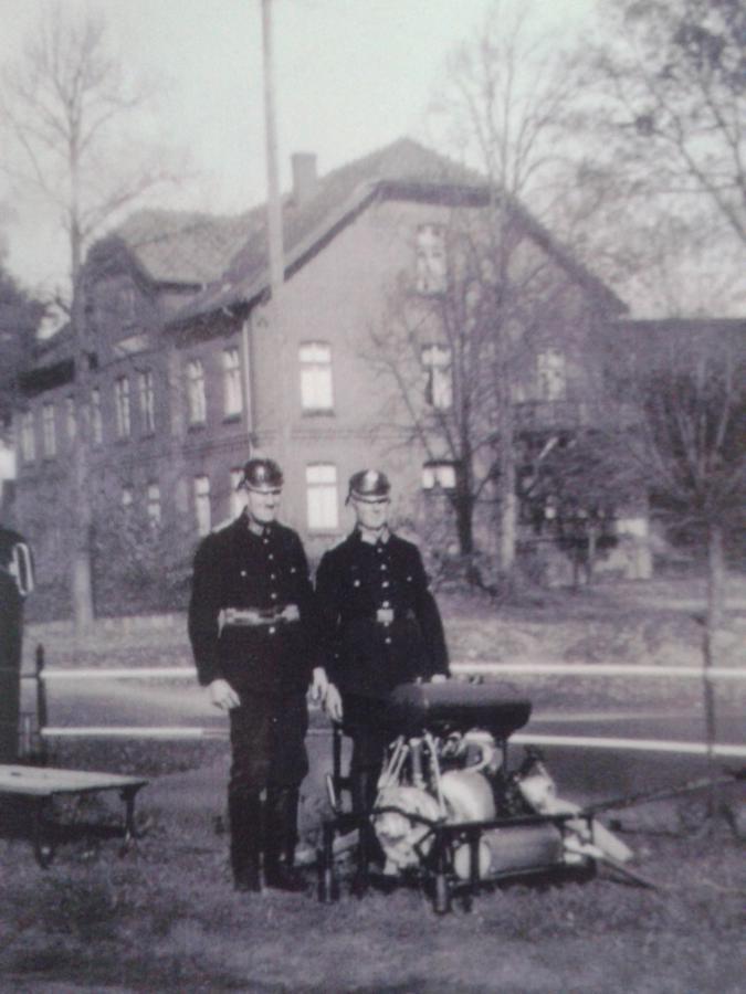 1940 erste Motorspritze