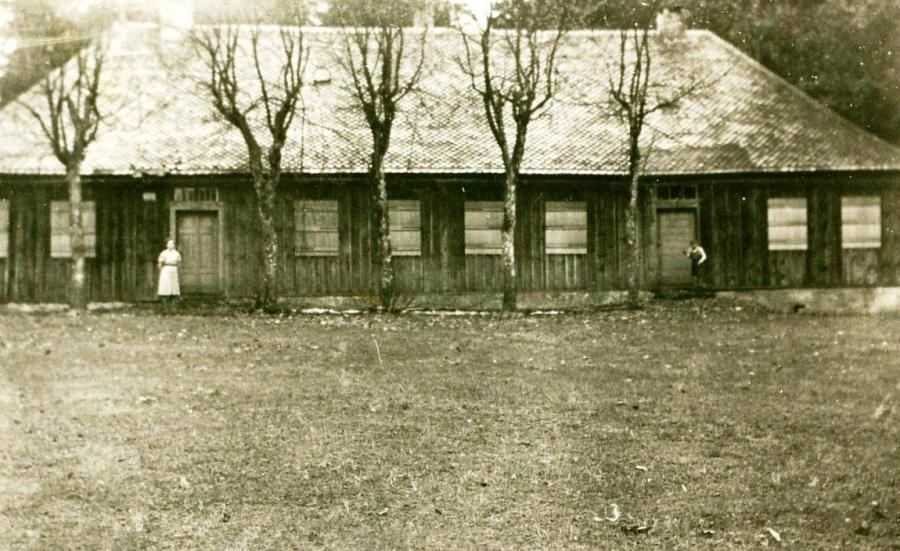 Jägerhaus 1944 - Foto: Heinrich Vorberg