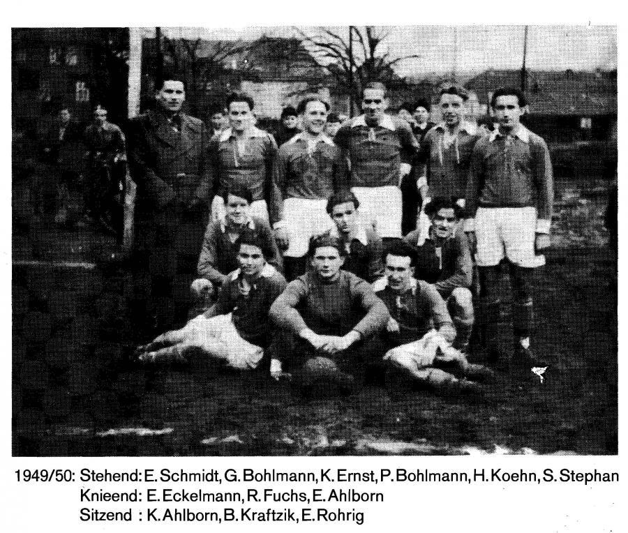 1. Herren 1949 - 1950
