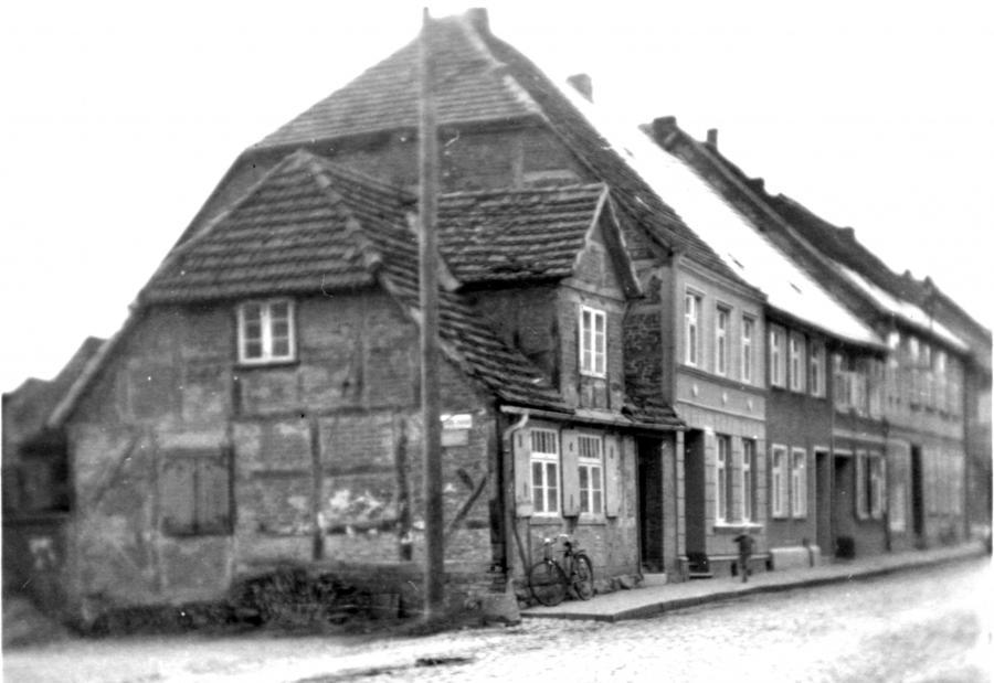 Das alte Torschreiberhaus 1959