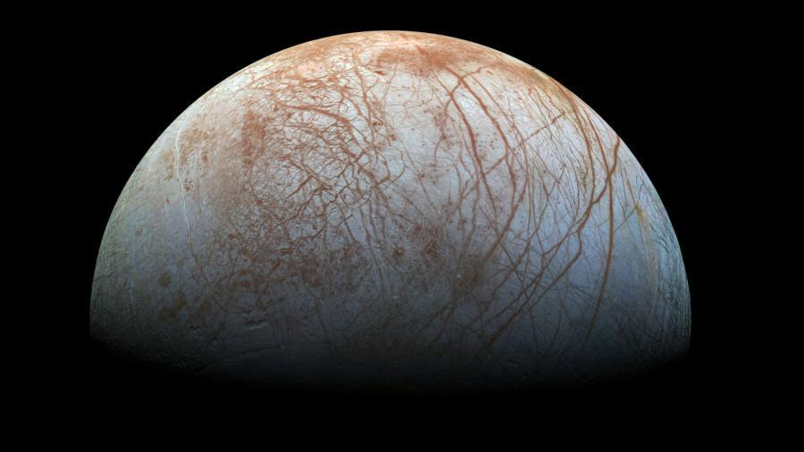 Mond Europa, Quelle: NASA/JPL-Caltech/SETI-Institute
